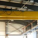 Pont roulant Socata - détail